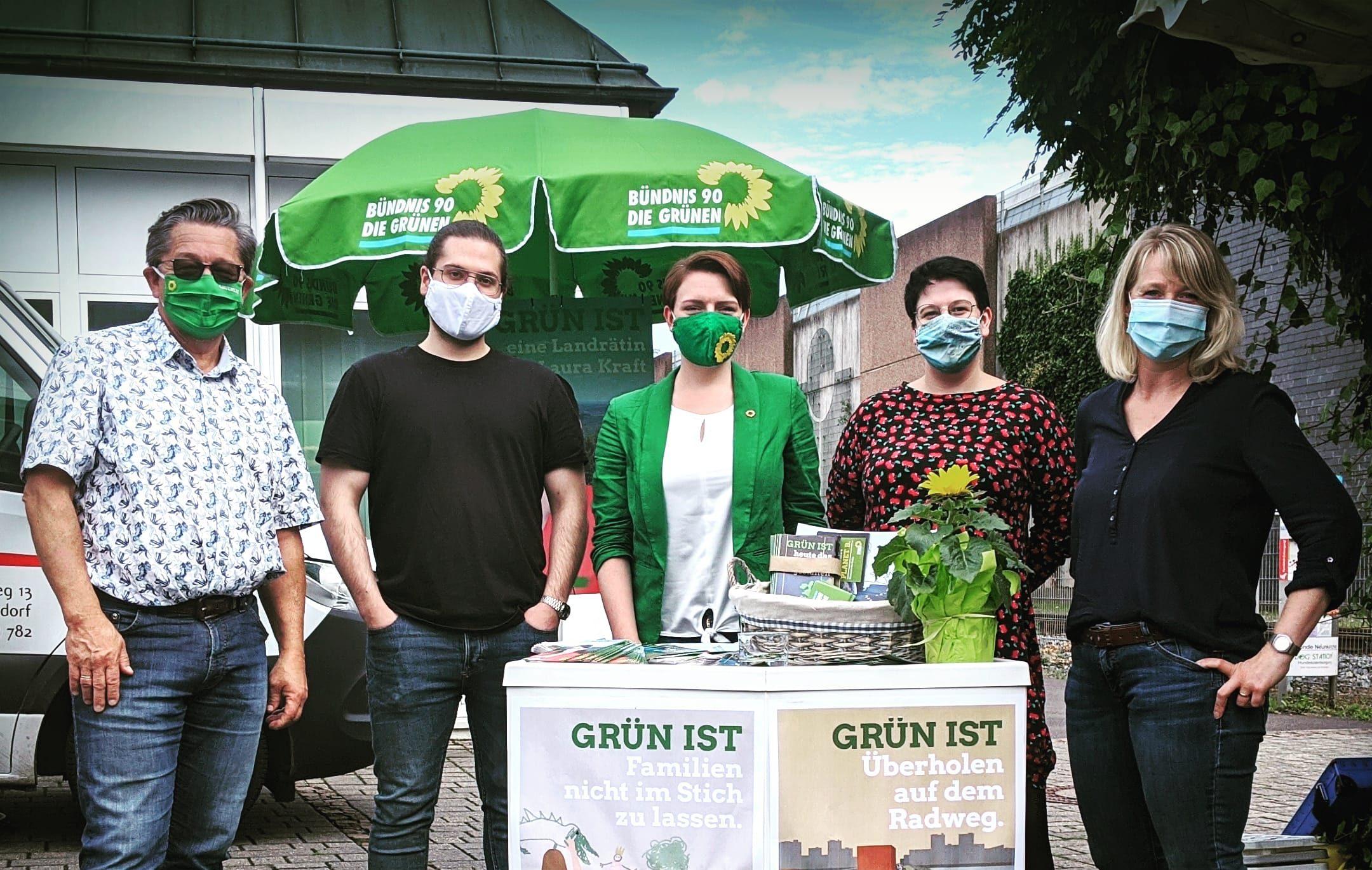 Grün in Neunkirchen